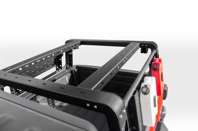 2019-2020 Jeep Gladiator Overland Access Rack With Side Gates, Incl. (4) 3 Inch ZROADZ LED Pod Lights - PN #Z834101 - Image 8