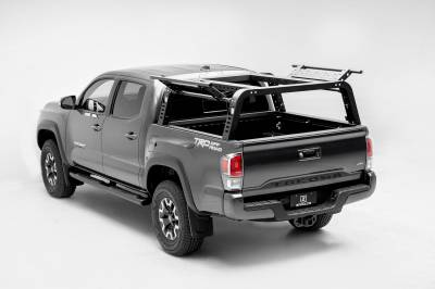 2016-2021 Toyota Tacoma Overland Access Rack With Side Gates, Incl. (4) 3 Inch ZROADZ LED Pod Lights - PN #Z839101 - Image 1