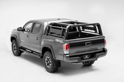 2016-2021 Toyota Tacoma Overland Access Rack With Side Gates, Incl. (4) 3 Inch ZROADZ LED Pod Lights - PN #Z839101 - Image 3