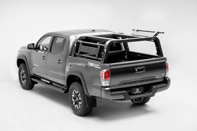 2016-2021 Toyota Tacoma Overland Access Rack With Side Gates, Incl. (4) 3 Inch ZROADZ LED Pod Lights - PN #Z839101 - Image 4
