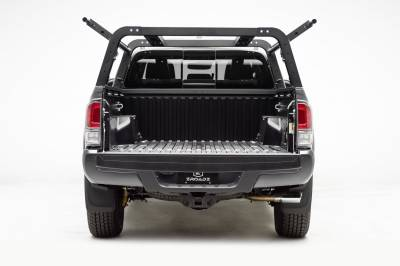 2016-2020 Toyota Tacoma Overland Access Rack With Side Gates, Incl. (4) 3 Inch ZROADZ LED Pod Lights - PN #Z839101 - Image 11