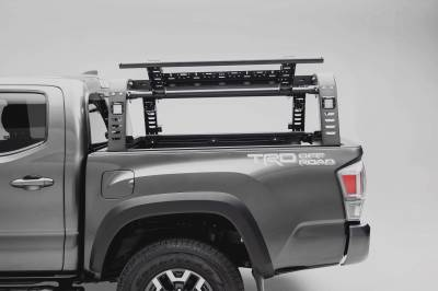2016-2021 Toyota Tacoma Overland Access Rack With Side Gates, Incl. (4) 3 Inch ZROADZ LED Pod Lights - PN #Z839101 - Image 12