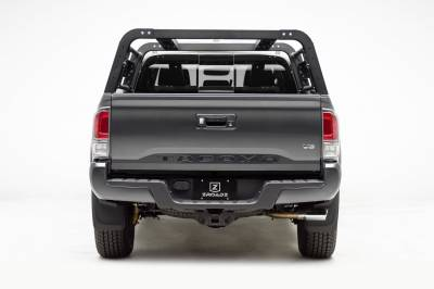 2016-2020 Toyota Tacoma Overland Access Rack With Side Gates, Incl. (4) 3 Inch ZROADZ LED Pod Lights - PN #Z839101 - Image 13