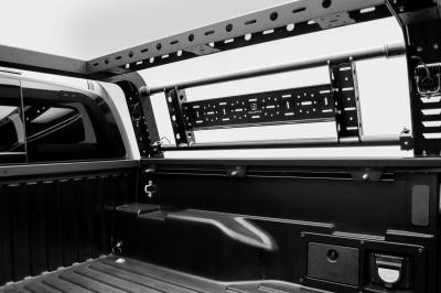 2016-2021 Toyota Tacoma Overland Access Rack With Side Gates, Incl. (4) 3 Inch ZROADZ LED Pod Lights - PN #Z839101 - Image 14