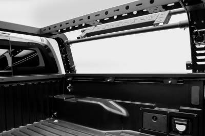 2016-2021 Toyota Tacoma Overland Access Rack With Side Gates, Incl. (4) 3 Inch ZROADZ LED Pod Lights - PN #Z839101 - Image 15