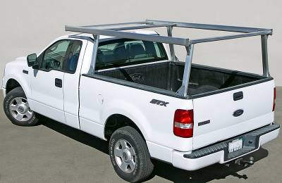 Toyota Tacoma Galleon Truck Rack for Cabs Under 24 Inches, Standard Legs, Brushed Frame With Bead Blasted Base - PN #82690210 - Image 12