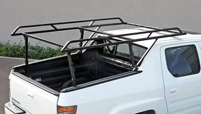 2006-2014 Honda Ridgeline 3 Rack, Black, Stainless Steel - PN #83560251 - Image 1
