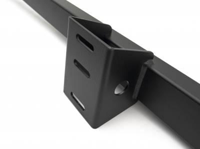 2019-2021 Ford Ranger Access Overland Rack Crossbars, Black, Mild Steel, Bolt-On, 2 Pc Set with Hardware - PN #Z835011 - Image 5
