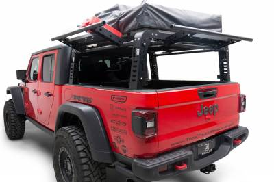 2019-2021 Jeep Gladiator Access Overland Rack With Three Lifting Side Gates, For use on Factory Trail Rail Cargo Systems - PN #Z834211 - Image 2