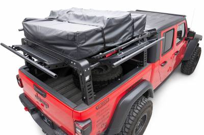 2019-2021 Jeep Gladiator Access Overland Rack With Three Lifting Side Gates, For use on Factory Trail Rail Cargo Systems - PN #Z834211 - Image 3