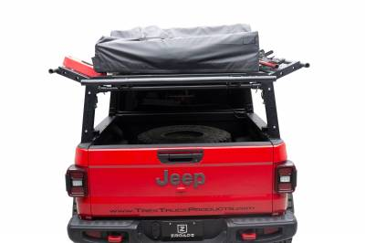 2019-2021 Jeep Gladiator Access Overland Rack With Three Lifting Side Gates, For use on Factory Trail Rail Cargo Systems - PN #Z834211 - Image 10