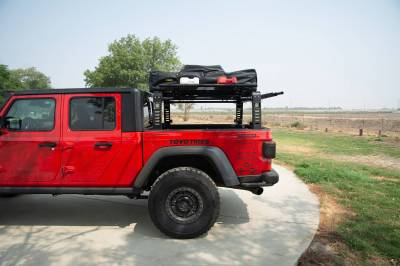 2019-2021 Jeep Gladiator Access Overland Rack With Three Lifting Side Gates, For use on Factory Trail Rail Cargo Systems - PN #Z834211 - Image 20