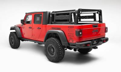 2019-2021 Jeep Gladiator Access Overland Rack With Two Lifting Side Gates, For use on Factory Trail Rail Cargo Systems - PN #Z834111 - Image 2