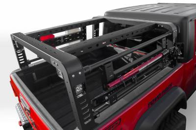 2019-2021 Jeep Gladiator Access Overland Rack With Two Lifting Side Gates, For use on Factory Trail Rail Cargo Systems - PN #Z834111 - Image 8