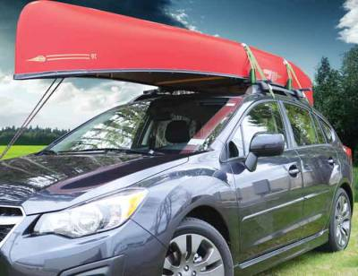 Malone Big Foot Pro Canoe Carrier with Tie-Downs - Image 4